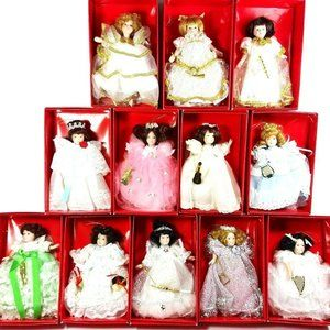 1987 Choir of Angels Ornament Collection from The